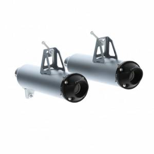 UTV/ATV - UTV Exhaust - MBRP PowerSports - MBRP Powersports, Maverick 1000, turbo dual Slip on muffler, (2013-16)