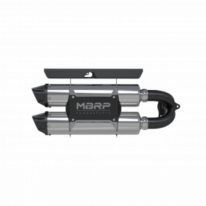 UTV/ATV - UTV Exhaust - MBRP PowerSports - MBRP Powersports, RZR XP 1000 Dual Slip-on Performance Series (2015-17)
