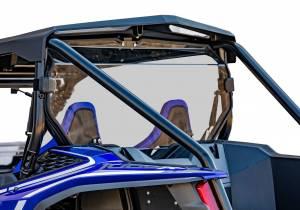 UTV Windshield - Rear Windshields - SuperATV - Honda Talon 1000X, Rear Windshield, Standard Polycarbonate- Clear
