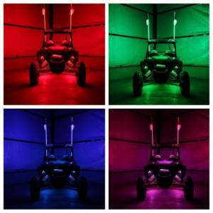 Lighting - Off-Road Lighting - Gorilla Whips - Gorilla Whips LED Whip Xtreme Whip with Wireless Remote
