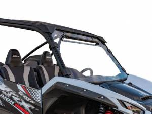 UTV Windshield - Full/ Vented Windshields - SuperATV - Kawasaki Teryx KRX 1000, Vented Windshield (2020)
