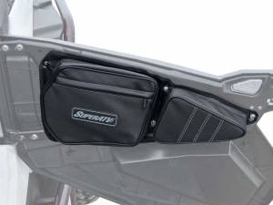 Storage/Tie Downs - SuperATV - Polaris RZR Door Bags (Stock Front Doors)