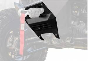 UTV Accessories - UTV Accessories - SuperATV - Polaris RZR PRO XP Winch Mounting Plate