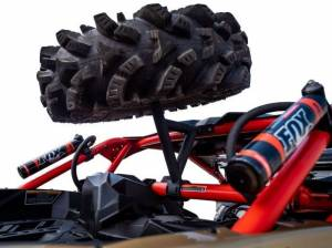 Tire Racks - SuperATV - Can-Am Maverick X3 Spare Tire Carrier
