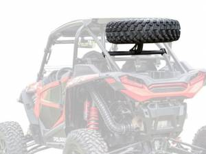 Tire Racks - SuperATV - Polaris RZR XP Turbo S Spare Tire Carrier