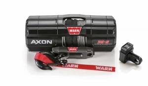 Winches - Electric Winches - Warn - Warn AXON 35 POWERSPORT WINCH, 3500 lbs (Synthetic Rope)