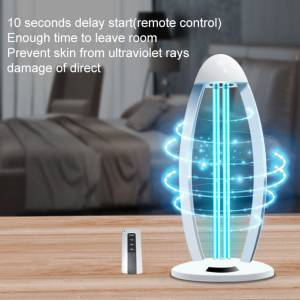 UV+Ozone Disinfection Light (**Pre-Sale, these should ship out by April 15th) - Image 2