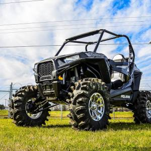 "UTV/ATV - UTV Lift Kits/ Portals - S3 Powersports - S3 POWER SPORTS, RZR S 1000 / RZR S 900 3"" BRACKET LIFT KIT (Semi Gloss Black)"