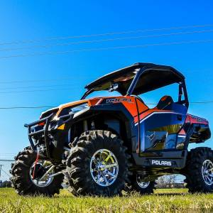 "UTV/ATV - UTV Lift Kits/ Portals - S3 Powersports - S3 POWER SPORTS, Polaris General 3"" BRACKET LIFT KIT (Semi Gloss Black)"