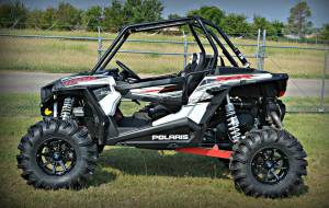"UTV/ATV - UTV Lift Kits/ Portals - S3 Powersports - S3 POWER SPORTS, RZR XP 1000, 5"" BRACKET LIFT KIT (Semi Gloss Black)"
