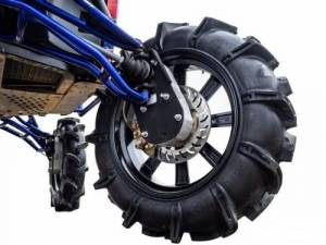 "Portals - Polaris - SuperATV - Polaris Ranger Full Size XP 570 8"" Portal Gear Lift, Crew Cab"