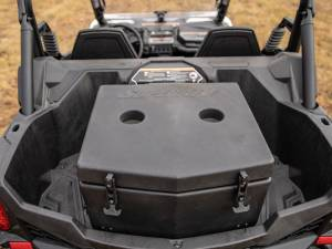 Storage/Tie Downs - SuperATV - Can-Am Maverick Sport Cooler / Cargo Box