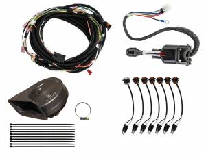 UTV Accessories - UTV Turn Signal Kits/ Electrical - SuperATV - Can-Am Maverick X3 Plug & Play Turn Signal Kit (Steering Column and Attached Horn)