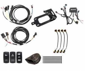 UTV Accessories - UTV Turn Signal Kits/ Electrical - SuperATV - Kawasaki Teryx Plug & Play Turn Signal Kit (Deluxe Plug and Play)