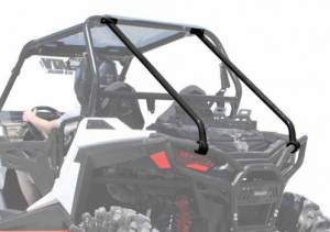 UTV Accessories - Roll Bar Accessories - SuperATV - Polaris RZR 900 Rear Cage Support (Wrinkle Black)
