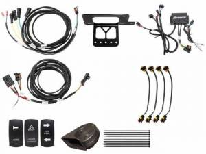 UTV Accessories - UTV Turn Signal Kits/ Electrical - SuperATV - Yamaha Viking Deluxe Plug & Play Turn Signal Kit