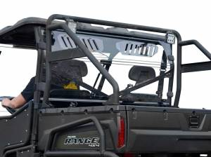 UTV Windshield - Rear Windshields - SuperATV - Polaris Ranger Full Size 500 Vented Full Rear Windshield