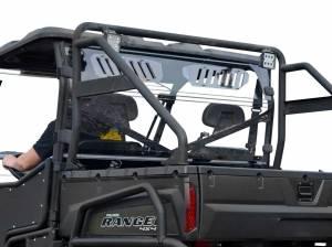 UTV Windshield - Rear Windshields - SuperATV - Polaris Ranger Full Size 800 Vented Full Rear Windshield
