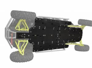 UTV Frame/ Chassis - Skid Plates - SuperATV - Polaris RZR 4 1000 Full Skid Plate