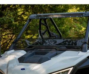 UTV Windshield - Half Windshields - SuperATV - Polaris RZR PRO XP Half Windshield(Scratch Resistant Polycarbonate) Dark Tint
