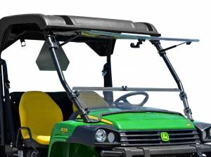 UTV Windshield - Flip Windshields - SuperATV - John Deere Gator Scratch Resistant Flip Windshield