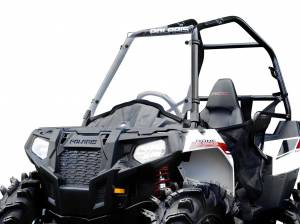 UTV Windshield - Full/ Vented Windshields - SuperATV - Polaris Ace Scratch Resistant Full Windshield