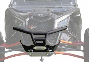 UTV Accessories - UTV Bumpers - SuperATV - Can-Am Maverick X3 Winch Ready Front Brush Guard