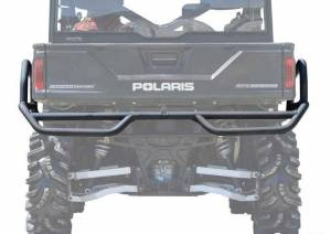 UTV Accessories - UTV Bumpers - SuperATV - Polaris Ranger Rear Extreme Bumper With Side Bed Guards