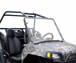 UTV Windshield - Full/ Vented Windshields - SuperATV - Polaris RZR 170 Scratch Resistant Full Windshield