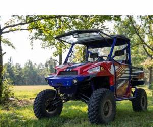 "UTV Accessories - UTV Lift Kits/ Portals - SuperATV - Polaris Ranger XP 900 6"" Lift Kit, Rhino 2.0 Axles (2019) Black"