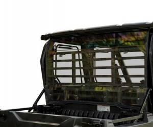UTV Windshield - Rear Windshields - SuperATV - Kawasaki Mule Pro-FXT Rear Windshield