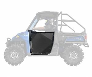 UTV Accessories - UTV Doors - SuperATV - Polaris Ranger XP 900 Aluminum Half Doors (Front Doors -2)