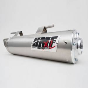 UTV/ATV - UTV Exhaust - HMF Racing - HMF Kawasaki Teryx/Teryx 4, Slip On, Titan Exhaust Systems Stainless (Loud)