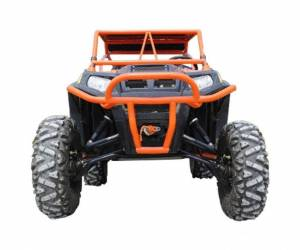 "UTV Accessories - UTV Lift Kits/ Portals - SuperATV - Polaris RZR 800, 6"" Lift Kit, Rhino 2.0 Axles (2008-14) Black"