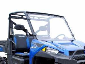 UTV Windshield - Full/ Vented Windshields - SuperATV - Polaris Ranger XP 570 Full Windshield (Standard Polycarbonate)- Clear