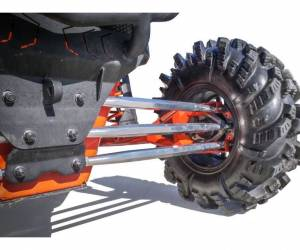 UTV/ATV - UTV Radius Arms - SuperATV - Can-Am Maverick X3, 72 inch, Billet Aluminum Radius Arms,.Complete Kit