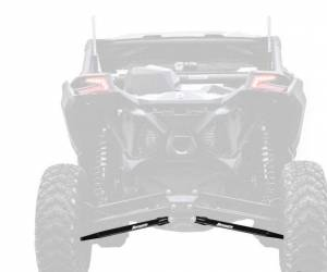 UTV/ATV - UTV Radius Arms - SuperATV - Can-Am Maverick X3, 64 inch, Boxed Radius Arms Complete Kit (Black)