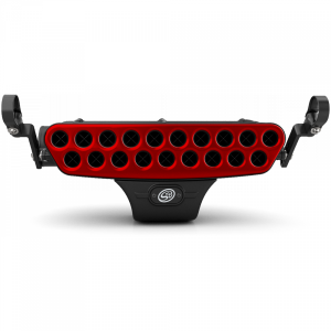 UTV Accessories - UTV Particle Separator/ Intake - S&B - S&B Stainless Steel Faceplate (Red)