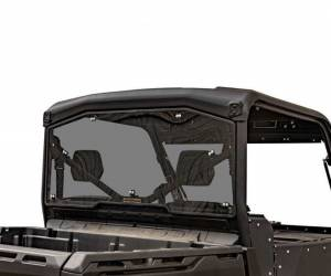 UTV Windshield - Rear Windshields - SuperATV - Can-Am Defender Rear Windshield (Standard Polycarbonate) - Dark Tint
