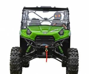"UTV/ATV - UTV Radius Arms - SuperATV - Kawasaki Teryx 6"" Lift Kit,  (2016+) Rhino Axles, Green"