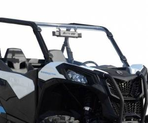 UTV Windshield - Full/ Vented Windshields - SuperATV - Can-Am Maverick Sport Full Windshield