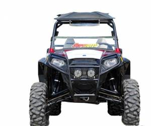 "UTV/ATV - UTV Lift Kits/ Portals - SuperATV - Polaris RZR 800, 5"" Lift Kit, High Clearance 1.5 Offset, Rhino Axles (2008-14) White"