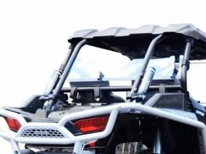 UTV Windshield - Rear Windshields - SuperATV - Polaris RZR XP Turbo Rear Windshield(Standard Polycarbonate) Clear
