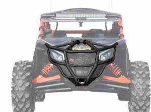 Brush Guards & Bumpers - ATV/UTV Heavy Duty Bumpers - Can-Am Maverick X3 Front Bumper (Wrinkle Black)