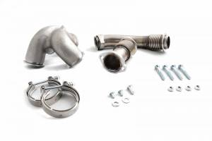 Turbos/Superchargers & Parts - Turbo Up Pipes - Rudy's Diesel Performance & Offroad - Rudy's Diesel Performance 304 SS Heavy Duty V-Band Up Pipe Kit, Ford (2003-07) 6.0L Power Stroke