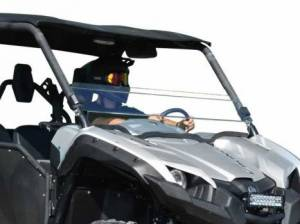 UTV Windshield - Half Windshields - SuperATV - Yamaha Viking Scratch Resistant Half Windshield