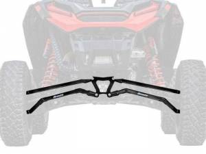 UTV/ATV - UTV Radius Arms - SuperATV - Polaris RZR XP Turbo S Boxed High Clearance Radius Arms (Black)