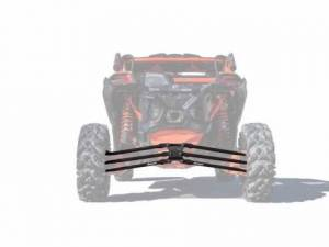 UTV/ATV - UTV Radius Arms - SuperATV - Can-Am Maverick X3, 72 inch, Tubed Radius Arms Complete Kit (Black)
