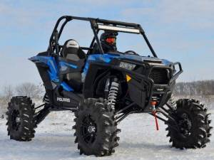 "UTV Accessories - UTV Lift Kits/ Portals - SuperATV - Polaris RZR XP Turbo 10"" Lift Kit (Rhino 2.0 Axles)"