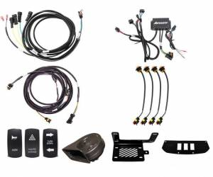 UTV Accessories - UTV Turn Signal Kits/ Electrical - SuperATV - Can-Am Maverick Deluxe Plug & Play Turn Signal Kit
